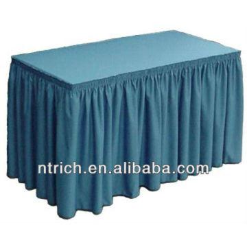 Box Falten Tabelle Röcke, Röcke aus Polyester Tabelle, Tabelle, Sockelleisten