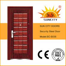 China Steel Door Low Prices Photos Steel Door Design (SC-S035)