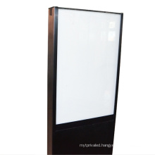 Edgelight AF90 free standing , , double sided decorative lighting fixture , CE/ROHS outdoor small led display board