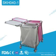 SKH040-1 из нержавеющей стали медицинский инструмент тележка с ящиками