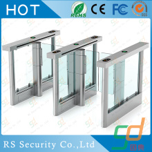 ESD Tester Visitor  Custom Glass Turnstile System
