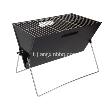 Barbecue pieghevole a carbone Mini X.