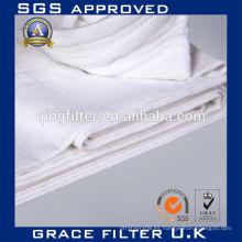 Colector de polvo Bolsa de filtro PTFE Aguja de fieltro PTFE filtro