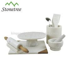 Factory price stone cake stand