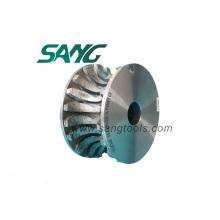 Diamond Bull Nose CNC Grinding Wheel Wheel for Granite (SG-08)