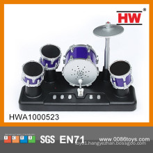 Hot Sale b/o plastic mini jazz drum set