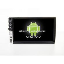 Quad core! Dvd de voiture avec lien miroir / DVR / TPMS / OBD2 pour 7inch écran tactile quad core 4.4 système Android DECKLESS Universal 4