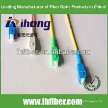 SC cable de fibra óptica / pigtail / conector fabricante de alta calidad