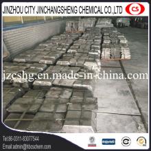 Lingot d'antimoine métallique pour la métallurgie Sb 99,65% Min