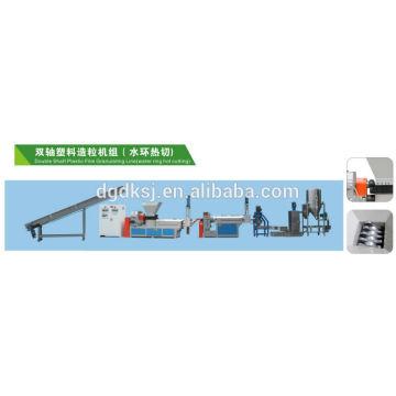 Seite Fütterung Kunststoff Recycling Maschine SJ-160