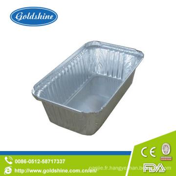 Conteneurs d'emballage alimentaire en aluminium Diaposable