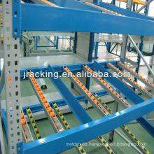 gravity,Jracking mental adjustable storage Q345 industrial gravity flow rack system