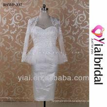 RSWP337 Lace Jacket Short Wedding Dress
