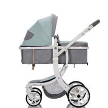 En 1888 /ASTM/AS/NZS Approved Baby Stroller Aluminum Alloy Kids Stroller high landscape