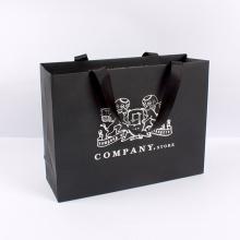 Preço de fábrica de alta qualidade custom shopping handle paper carrier bag