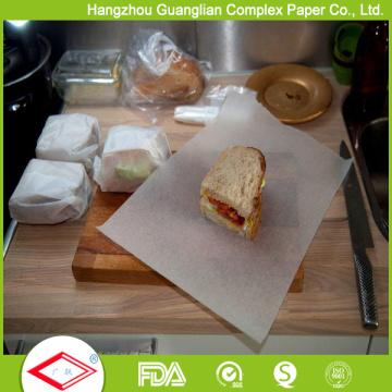 Papel do forro da bandeja do forno dos quadrados do papel do cozimento de 12inch X 16inch