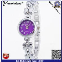 YXL-809 резки стекла тонкий камень моды Vogue дамы модные наручные часы