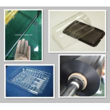 Transparente Pet Folha e Folha de PVC Preto para Break Box