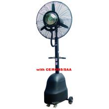 Ventilador eléctrico de la niebla al aire libre / lámina de aluminio, motor de cobre / CE / RoHS / ventilador de SAA