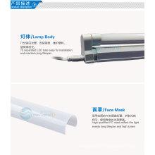 Heiße neue Produkte für 2014 3014smd führte Röhrenlicht integrierte T5 7w 600mm 2 Jahre Garantie CE RoHs