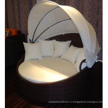 2015 алюминия Бич открытый ротанга кровать