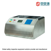 Ultra-Wideband Chemical Composition Liquid Detector for Airport Inspection