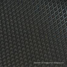 Hebei Facory Price negro hoja de goma antideslizante / tapete