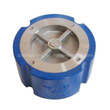 Чугунный ANSI 125lb / DIN Pn16 бесшумный обратный клапан типа ANSI