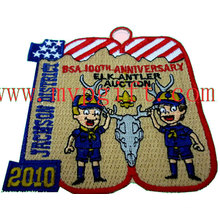Cotton Fabric Embroidery Badge (m-EP07)