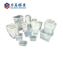 china popular plastic mould container plastic injection mould plastic injection mold round container mould