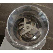 2017 ZL series revolving granulator, SS oscillating granulator principle, horizontal grinder machine for plastic