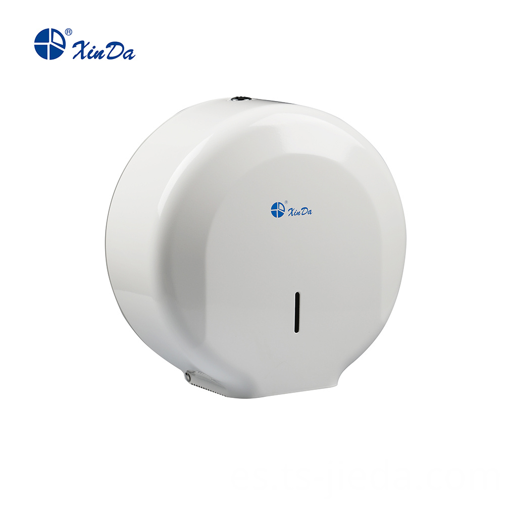 Powder White fashion Roll Towel Dispenser