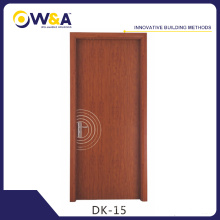 Waterproof WPC Wood Plastic Composite Wooden Bathroom Doors