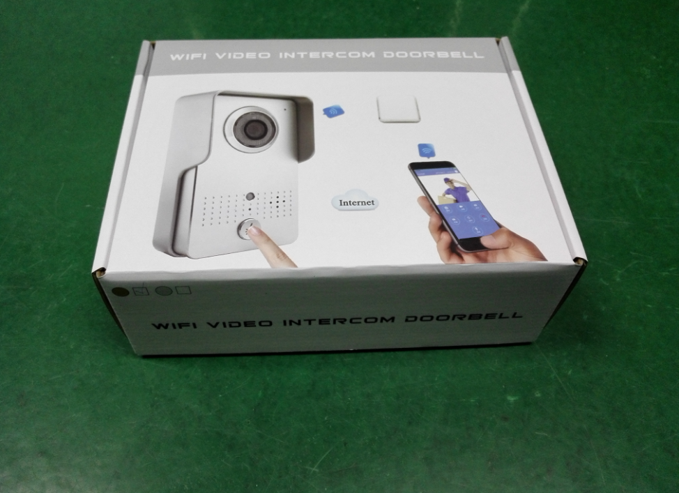 Smart WIFI IP Video Door Phone package
