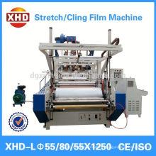 transparent pe stretch film machine
