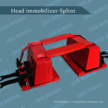 Fixation de tête de support de tête de dispositif d'immobilisation de la tête