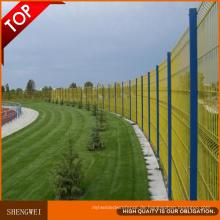 Qualitäts-Sicherheits-PVC-Garten-dekorativer künstlicher Zaun