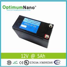 La batterie de portable LiFePO4 12V 15ah la plus légère