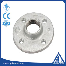 """La Chine fournit une bride de sol en fer malléable galvanisé personnalisé 1/2 """"1"""" 3/4 """"avec une qualité élevée"""