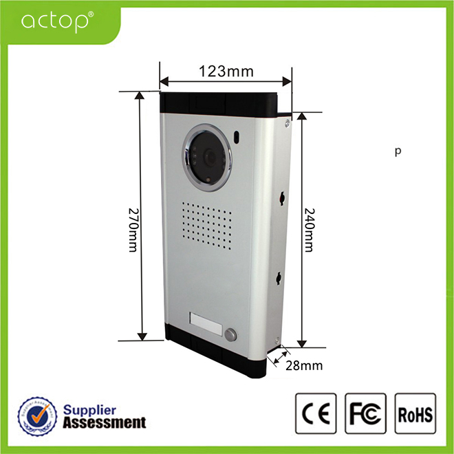 Video doorphone camera