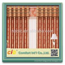 2014 Fashion Curtain Design Jacquard Curtain/Lace Curtain