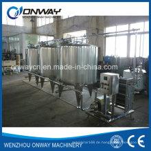 Edelstahl-CIP-Reinigungssystem Alkali-Reinigungsmaschine für die Reinigung an Ort und Stelle Industrie-Reinigungsgeräte