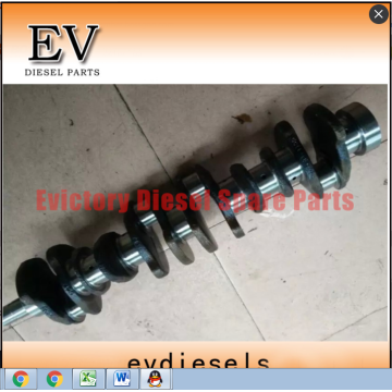 6D95L cylinder head block crankshaft connecting rod