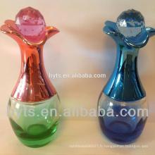 Bouteille en verre vide 60ml larme en forme de bouteille