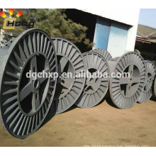 metal corrugated bobbin for wire production