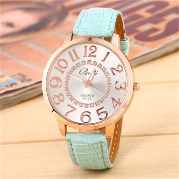Women Leather Bands Quartz Watches