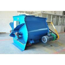 Misturador de pás de eixo duplo WZ gravidade zero, equipamento de mistura de líquido sólido SS, horizontal heavy duty stand mixer