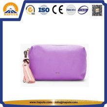 Bolso cosmético de viaje de cuero vintage creativo (HB-6663)