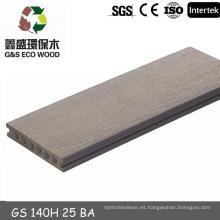 China WPC ingeniería de pisos / cubierta de plástico wpc / Huzhou decking wpc