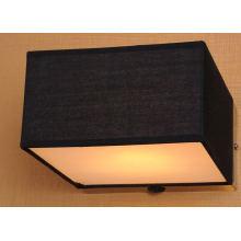 E14 11W Metal Fabric Acrylic Diffuser Wall Lamp Factory Price